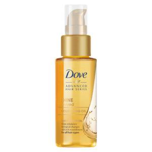 Dove Advanced Hair Series Shine Revived Oil Treatment.