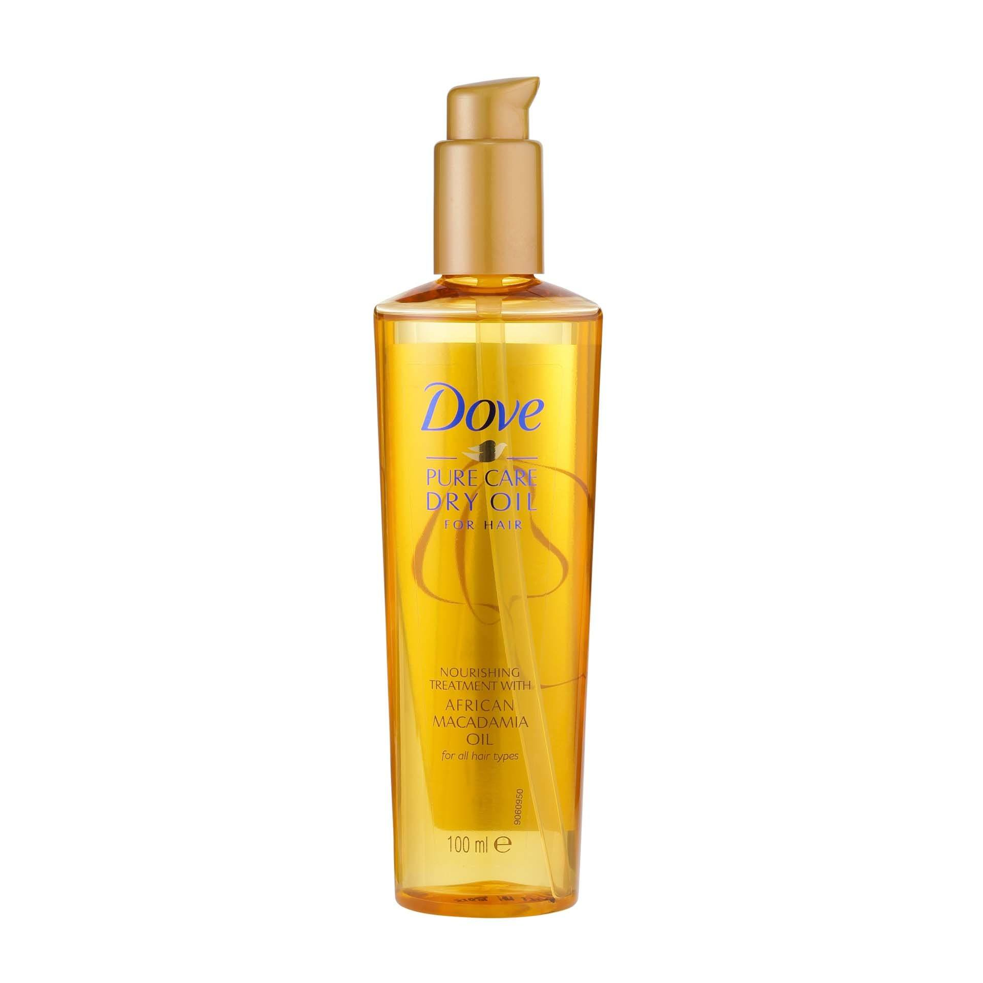 The best hair oil for dry hair Dove Advanced Nourishing Treatment