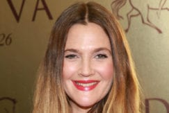 long blonde ombre hair Drew Barrymore