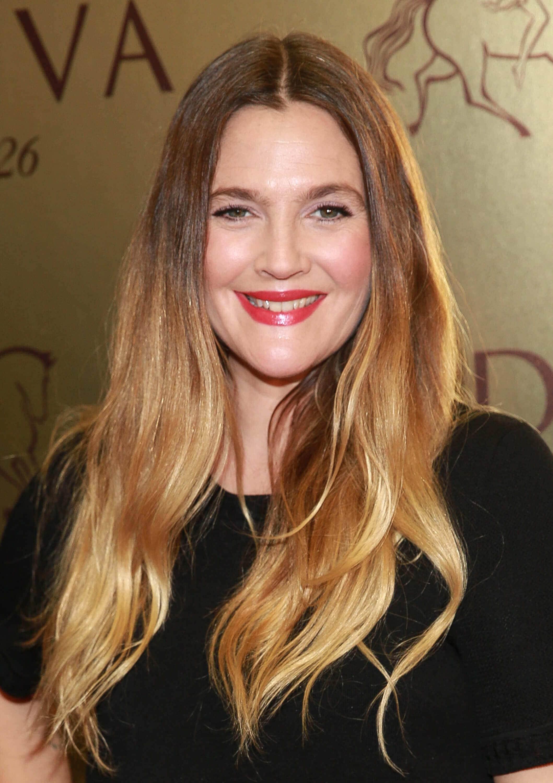Drew Barrymore Ombre Hair Www Pixshark Com Images