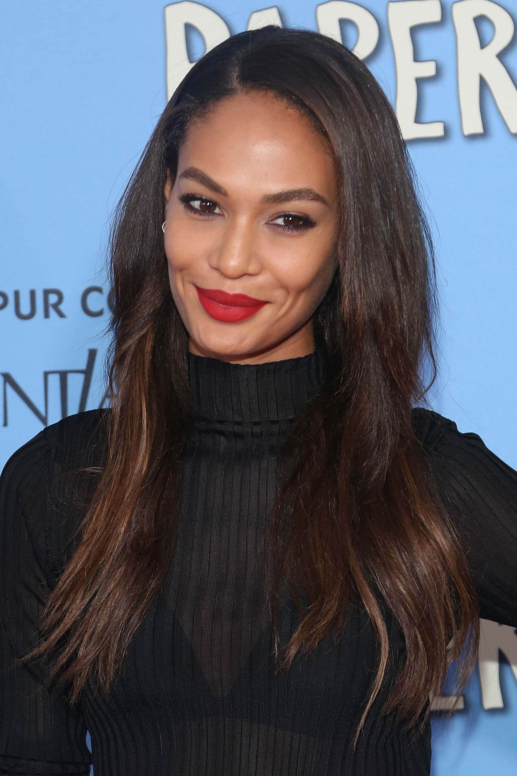 espresso brown hair joan smalls
