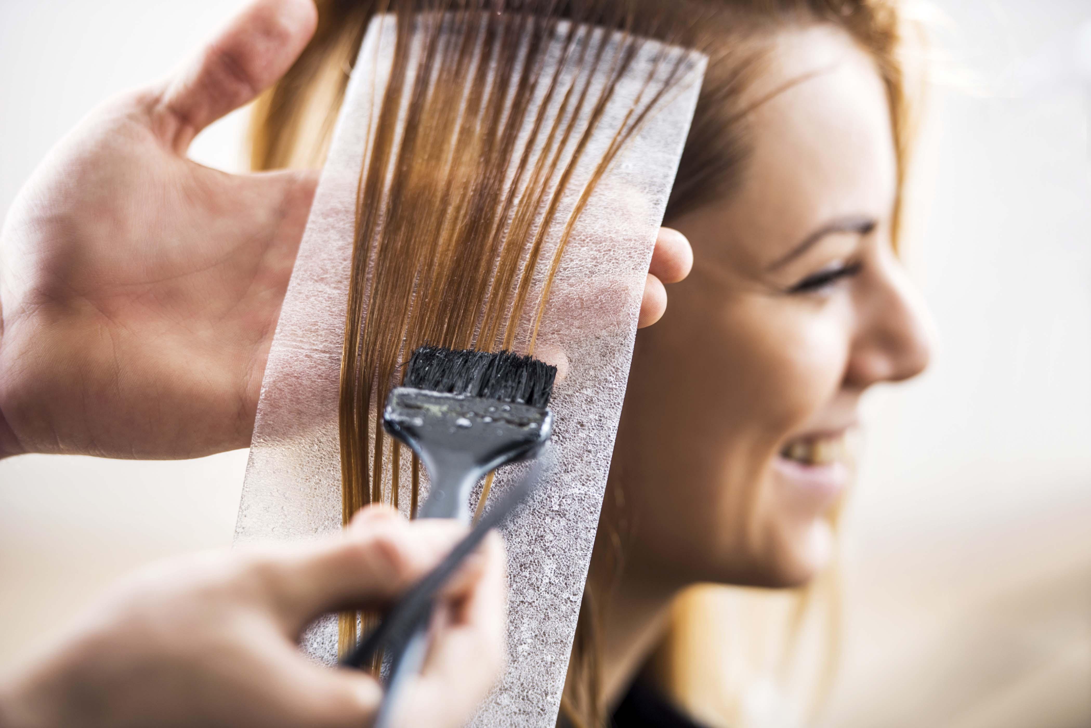 hair dye can result in dry hair