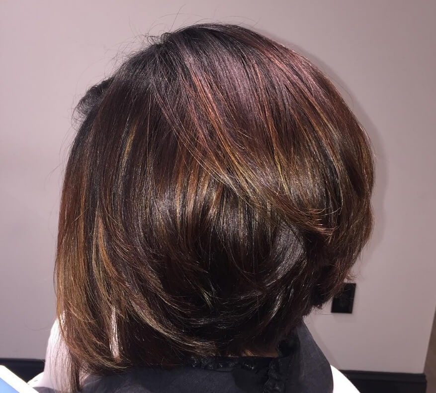 inverted bob volume boosting layers from Instagram