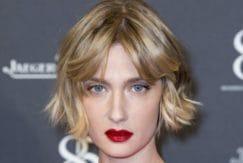 short bob hairstyles: Eva Riccobono's choppy bob