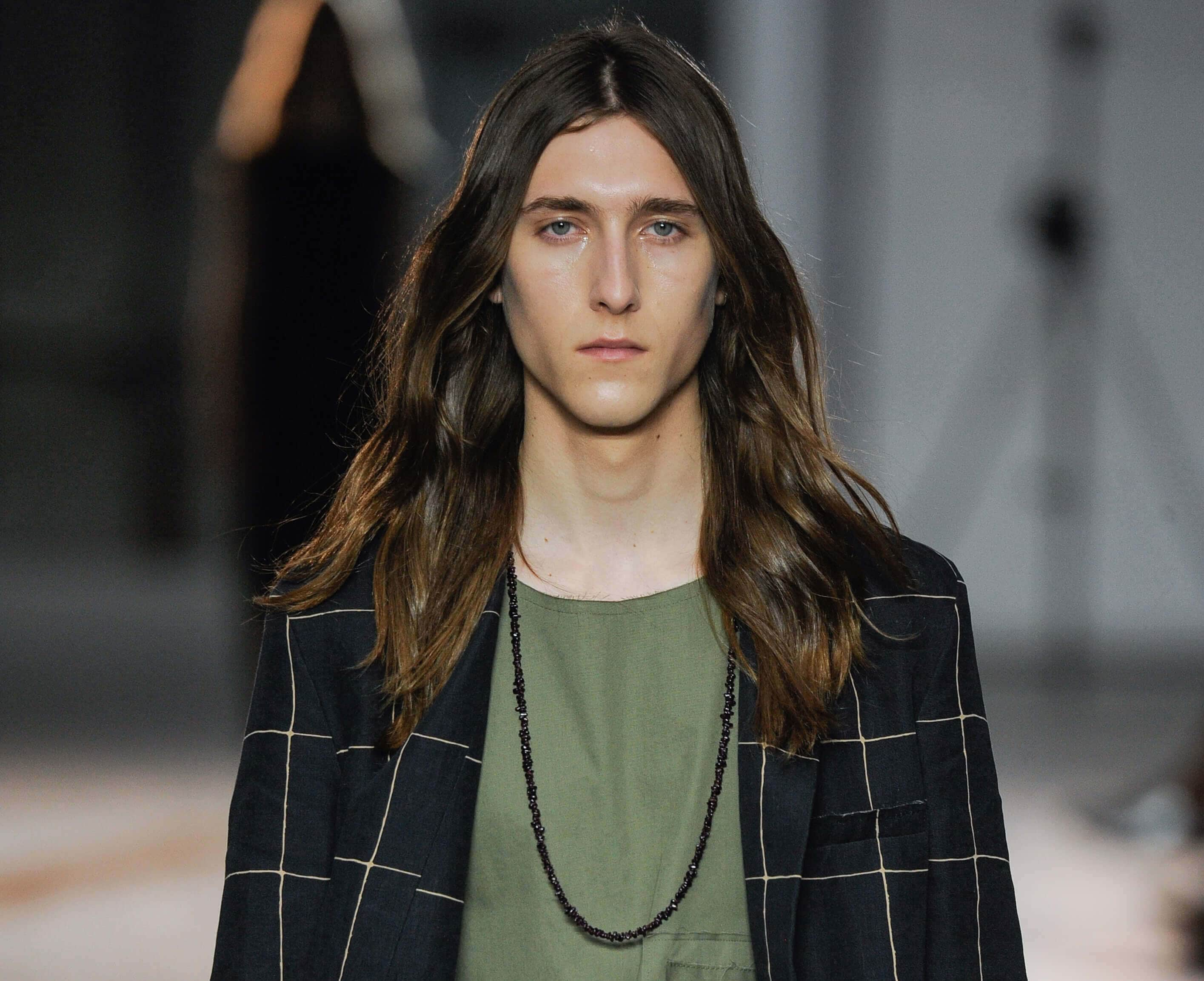 3 Catwalk Inspired Hairstyles For Long Hair Men