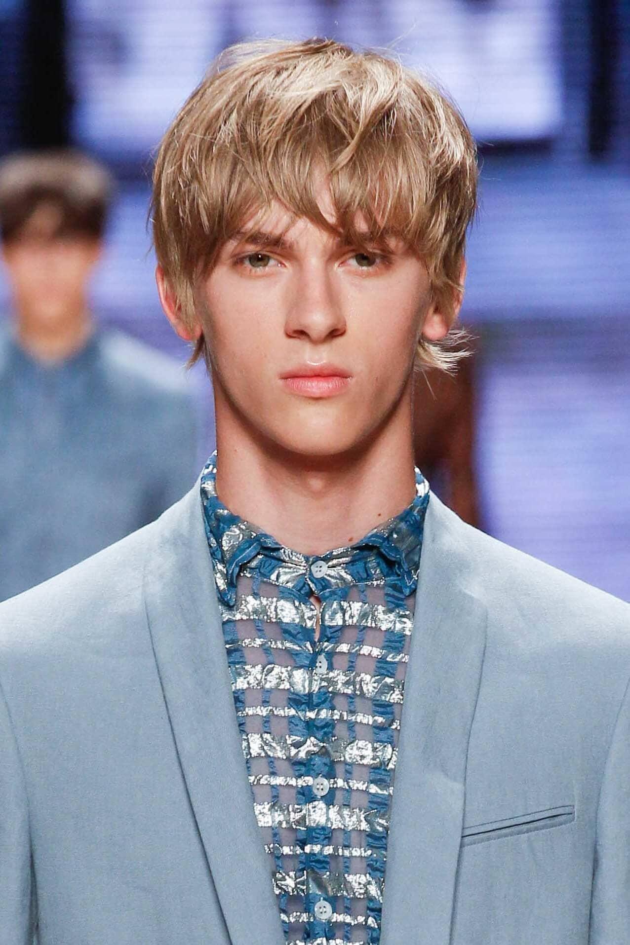 short haircuts for men long sides