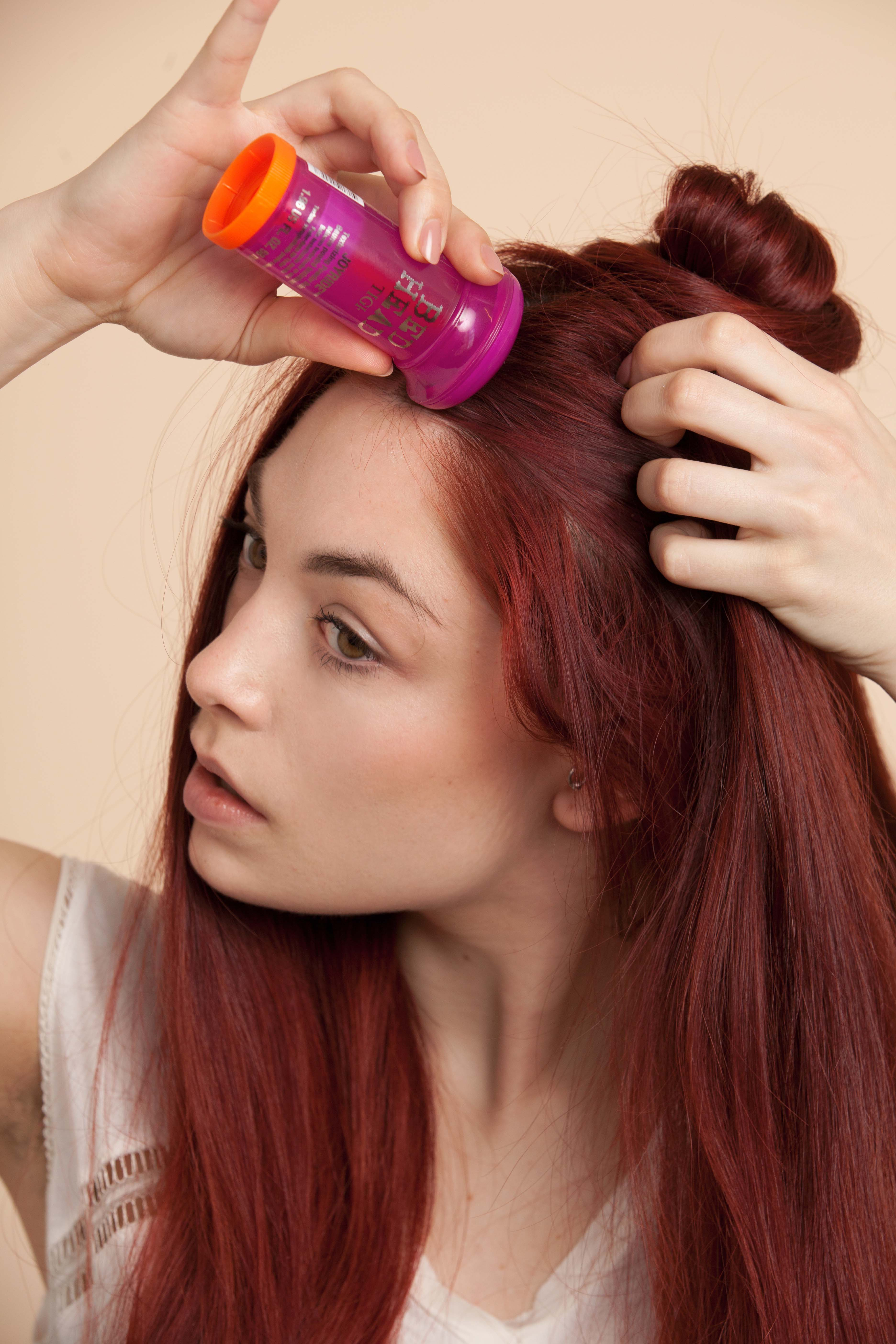 hair powder for styling women's hair