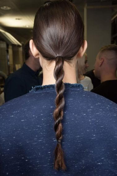 twisted ponytail braid cool easy hairstyles