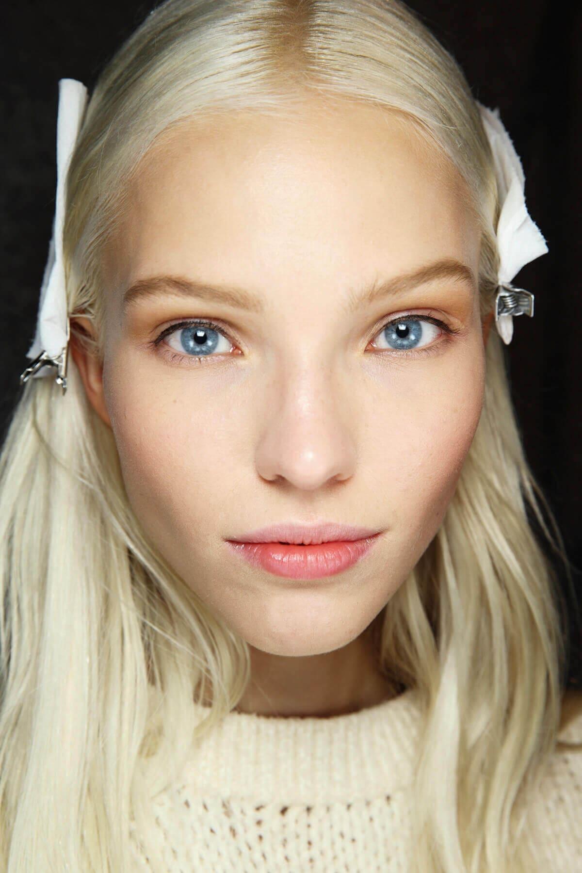 ice platinum blonde hair