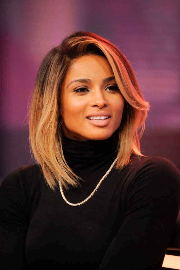 short ombre hair ciara