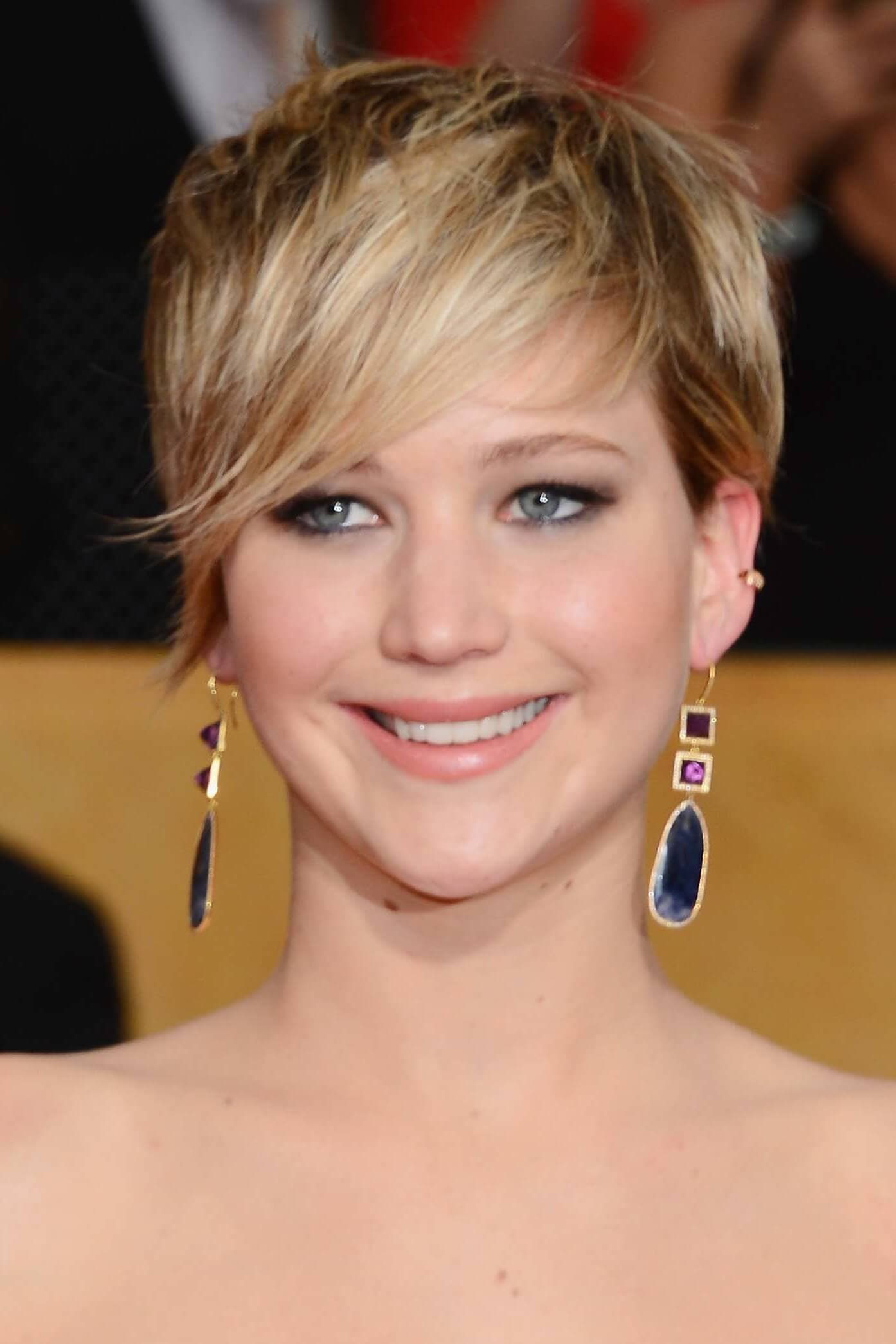 Jennifer lawrence short ombre hair