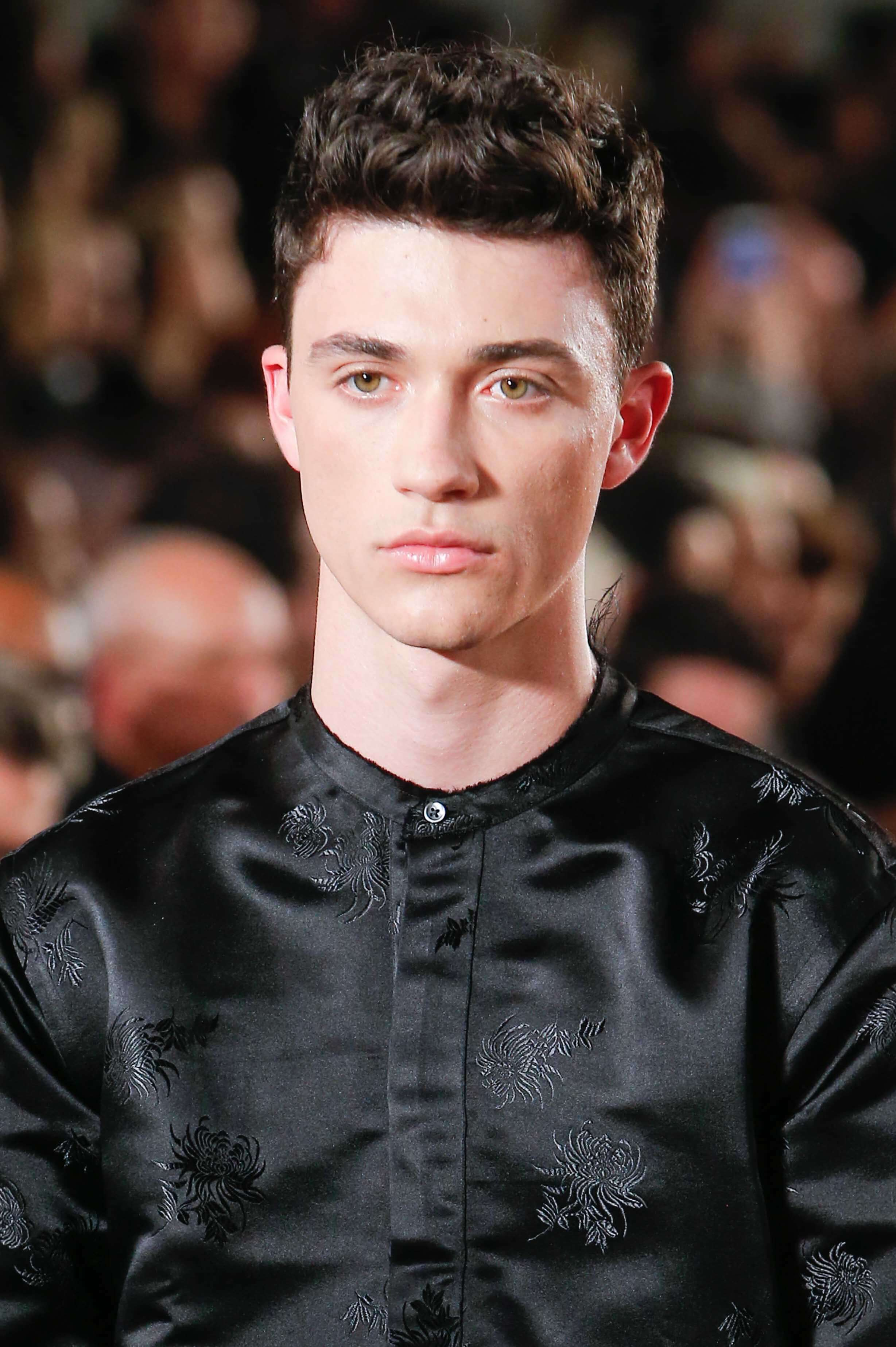 textured top short hairstyles for men