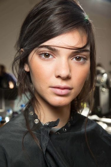 simple hairstyles: All Things Hair - IMAGE - deep slick parting