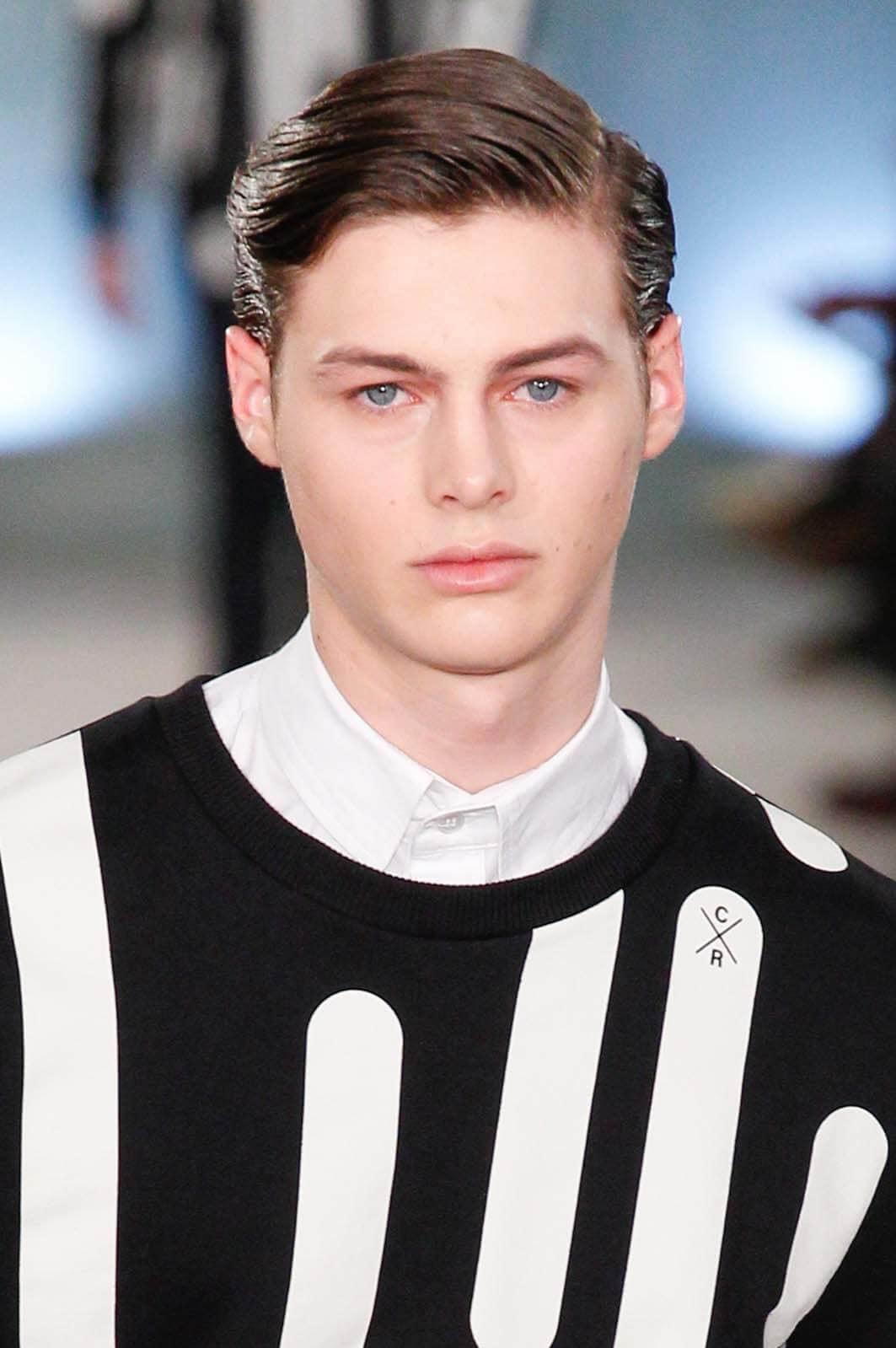 side part short hairstyles for men