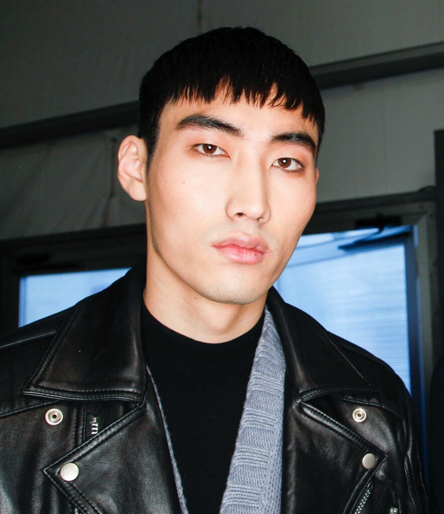 Asian men's hairstyles: the caeser cut