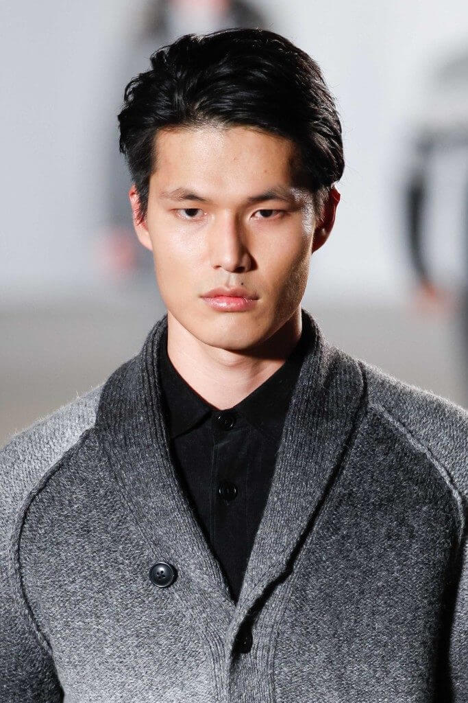 the pompadour hairstyle on asian men