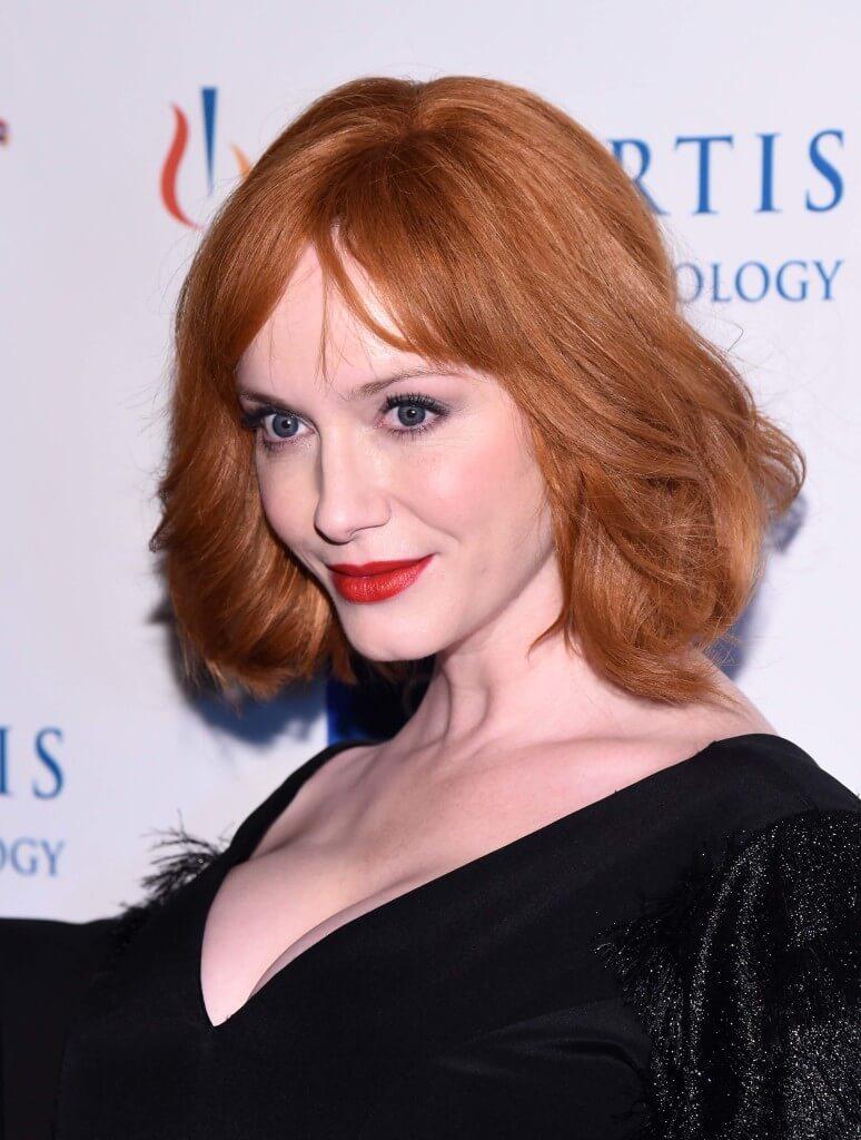 Christina hendricks ginger hair