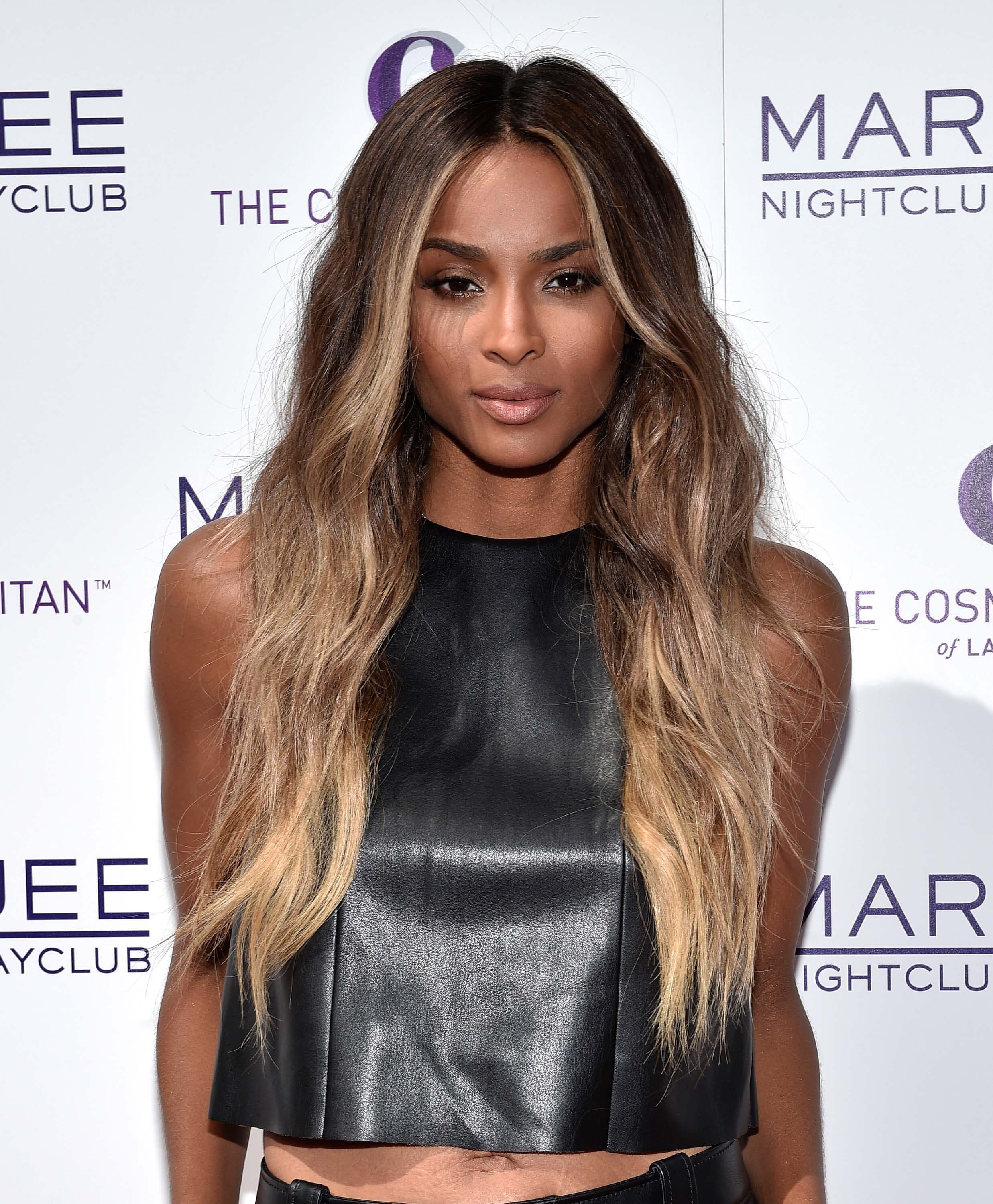 Why blonde is better 7 celebs who took the plunge ciara blonde balayage hair urmus Choice Image