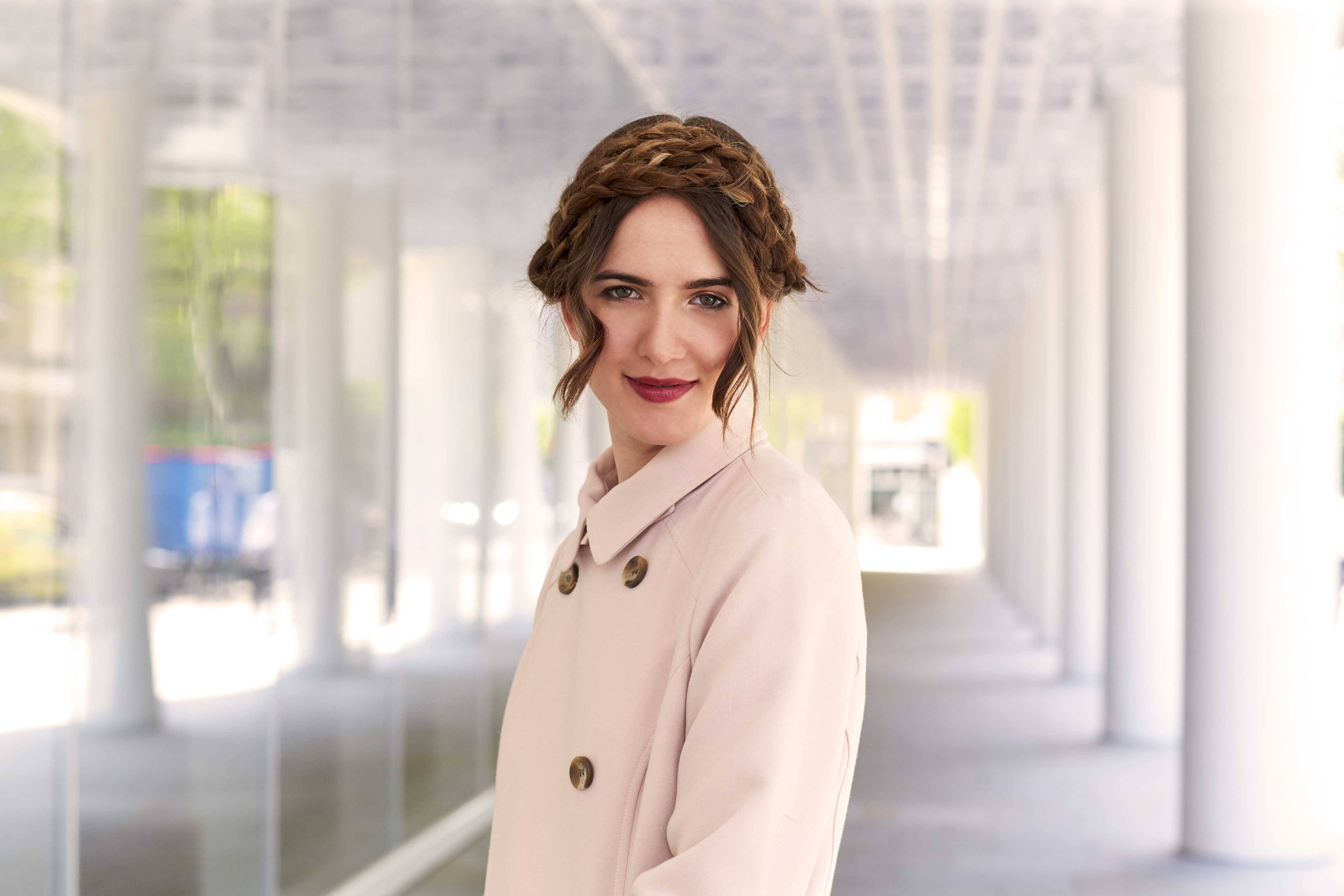hairstyles for long hair milkmaid braid