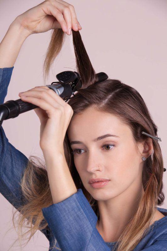 20s-inspired flapper hair - All Things Hair