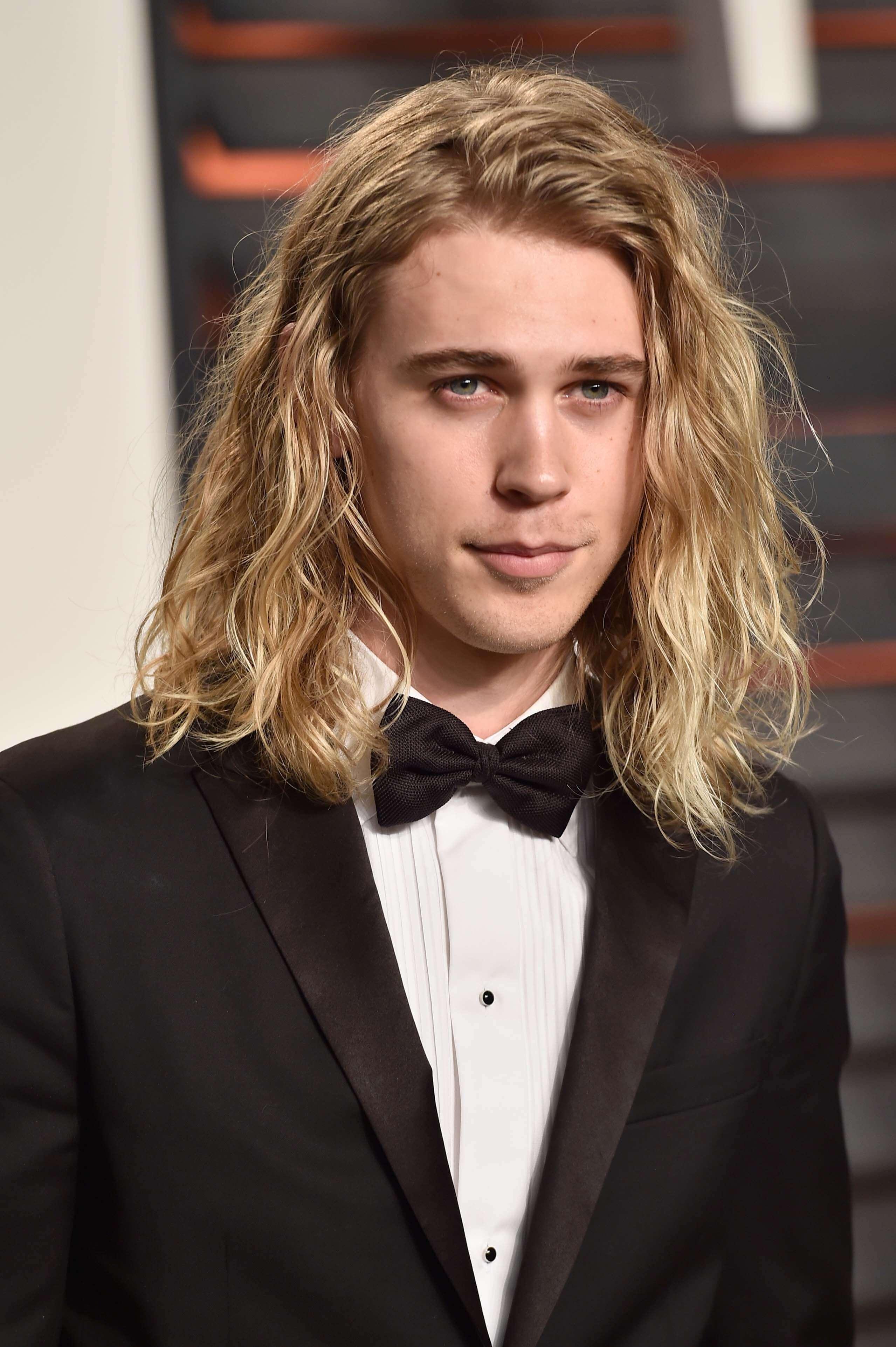 High Quality A List Men With Long Hair Austin Butler