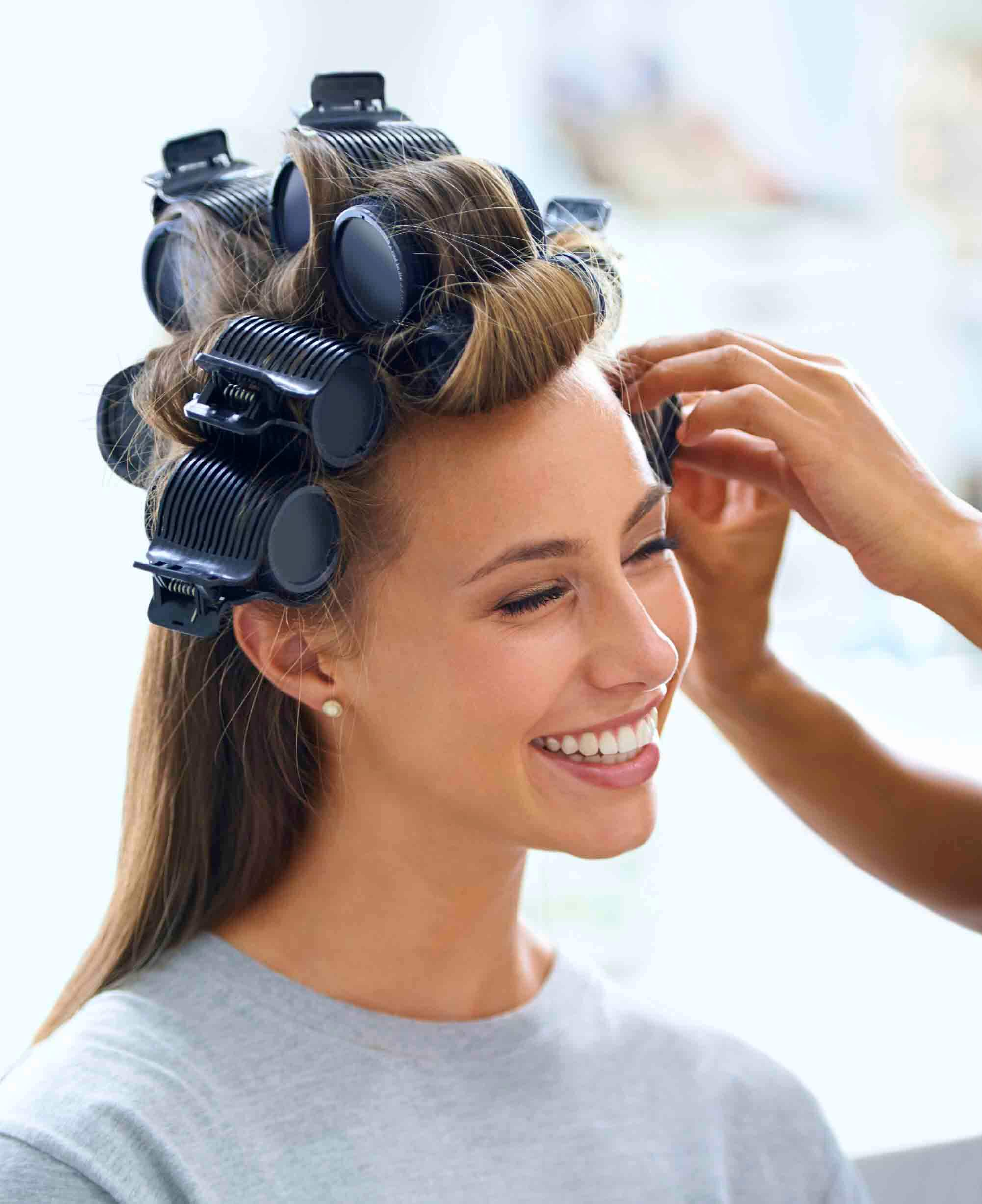 heated rollers technique guide