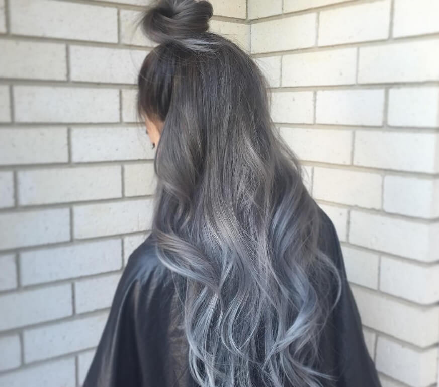 Highlights To Transition To Grey Hair Hairstylegalleries Com