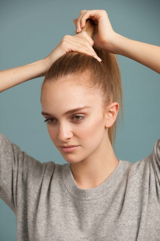 High Ponytail Tutorial Learn How To Create A Perfect Pony