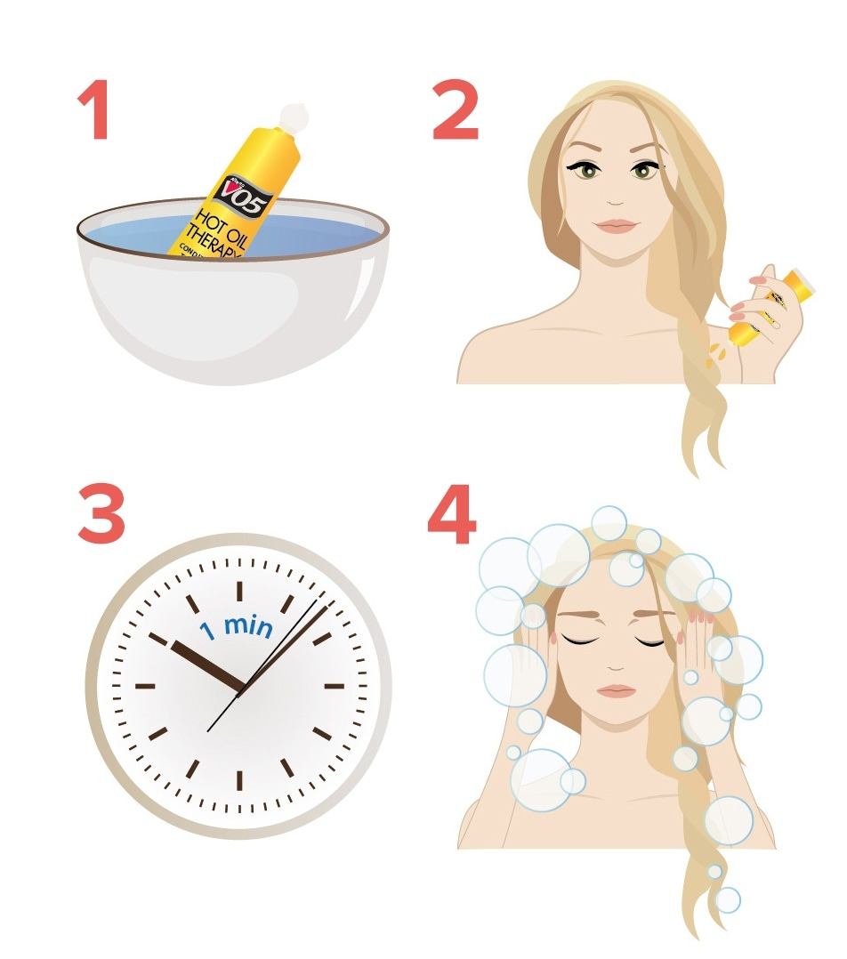 Step by step how to use hot oils in hair
