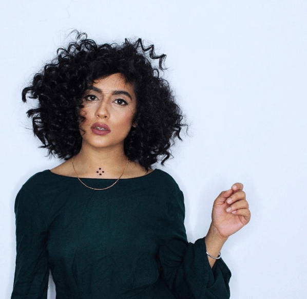 Indian hairstyles natural hair curly texture