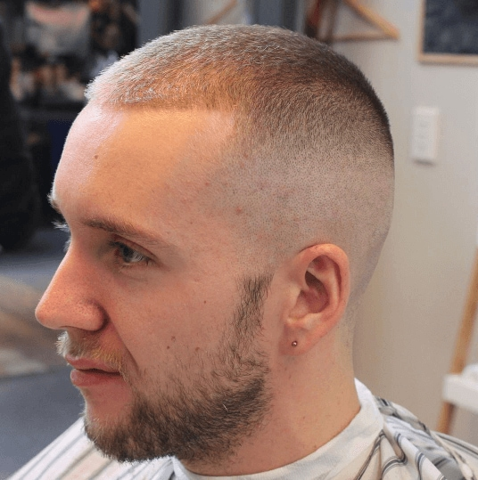 men's high fade cut
