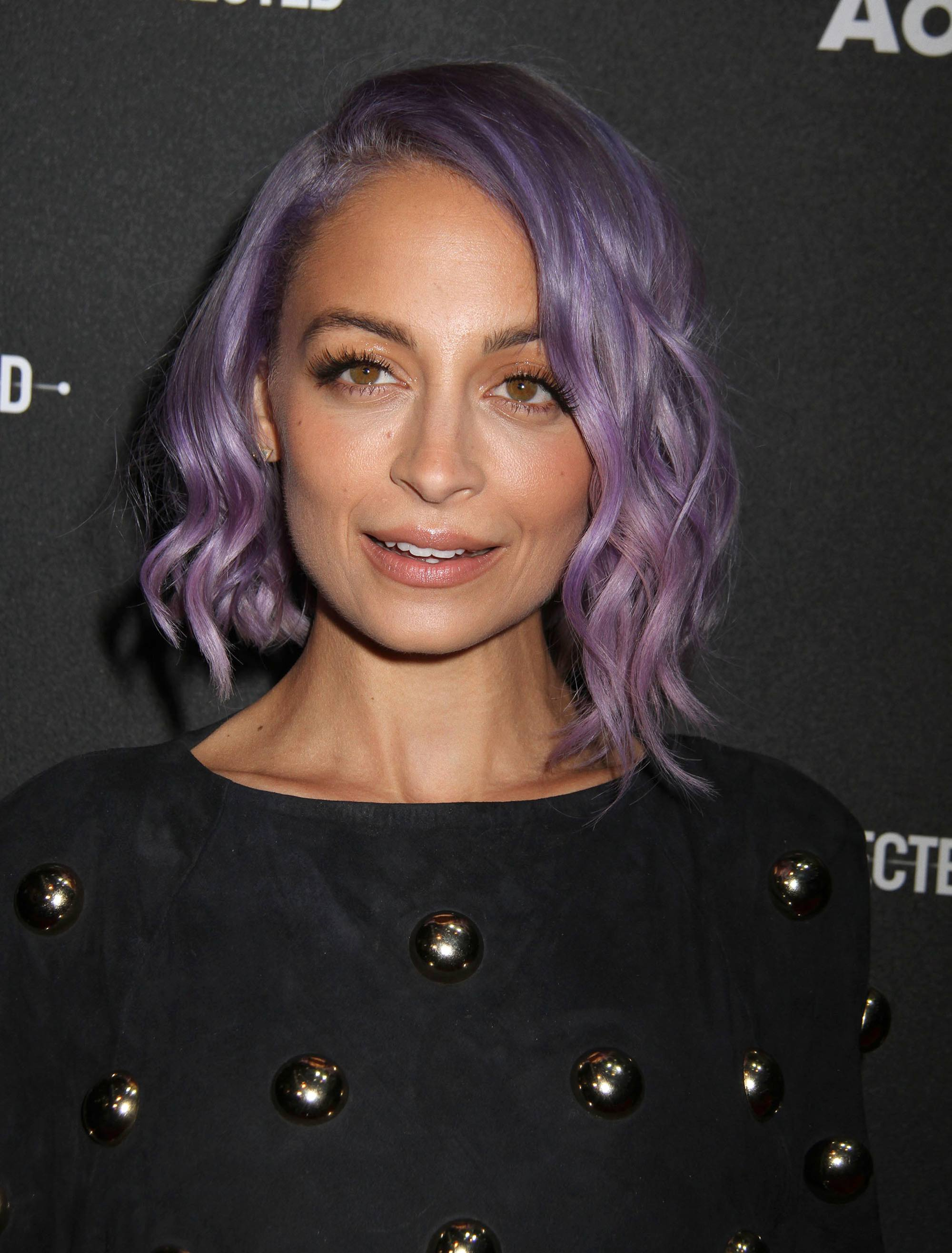 Richie nicole lilac hair new photo