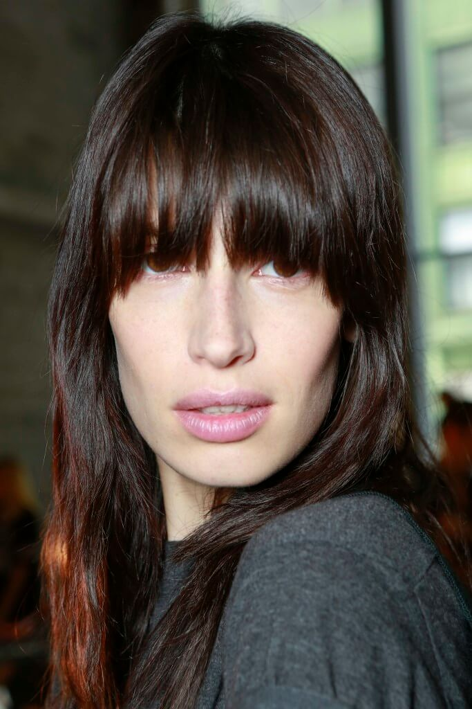 rounde fringe hairstyles for square faces