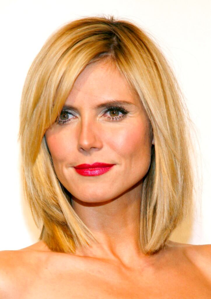 short haircuts for square faces and fine hair 5 flattering hairstyles for square faces you need to 6074 | short hairstyles for square faces heidi klum 723x1024