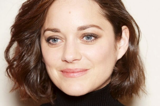 Hairstyle For Square Face : smooth wavy bob short hairstyles for square faces Marion Cotillard