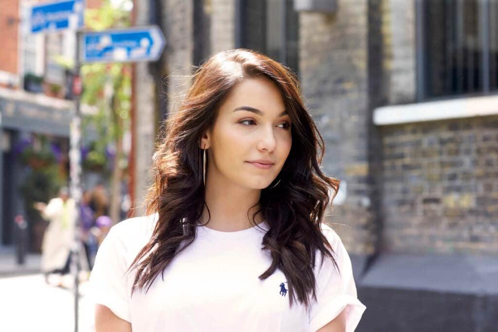 medium brown hair styles curls