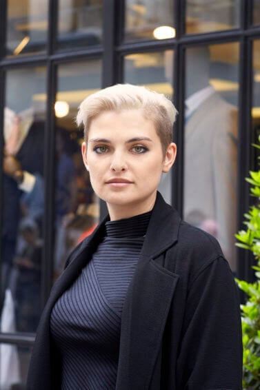 tapered pixie haircuts for round faces