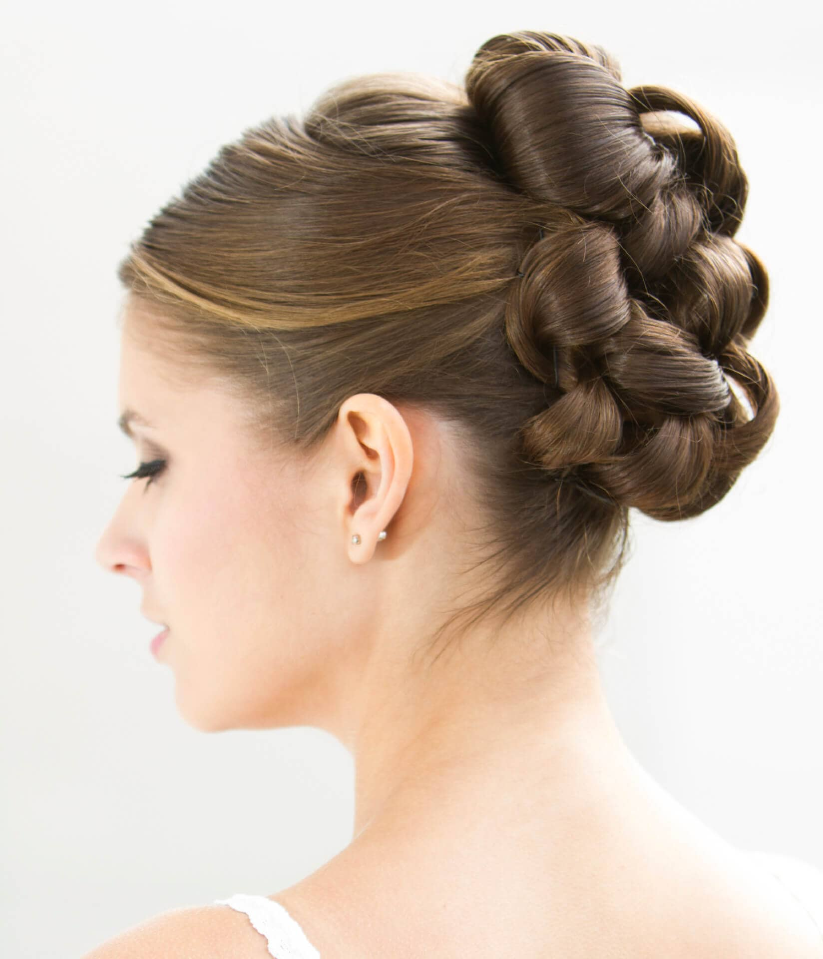 Wedding Hairstyle Ringlets: 3 Elegant Wedding Hairstyles For Medium Hair + How Tos