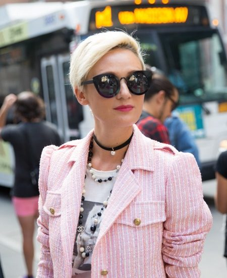 blonde pixie cut stylish haircuts