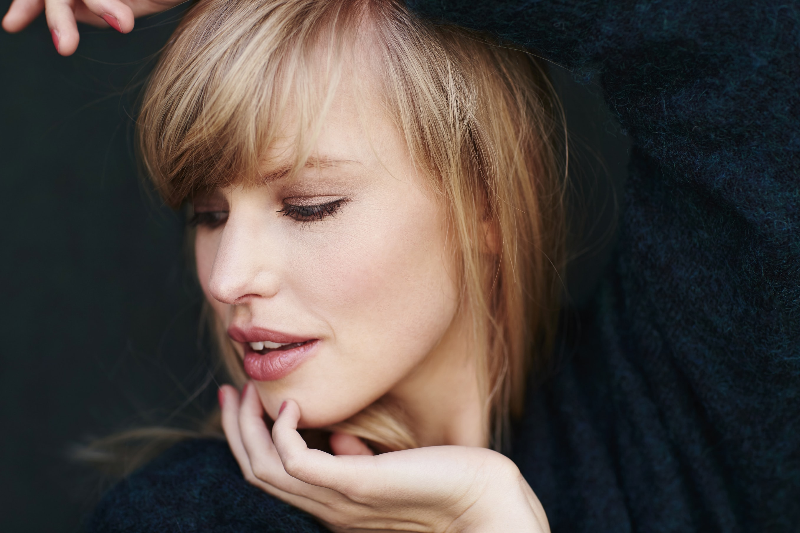 blunt haircut: All Things Hair - IMAGE - Add a fringe