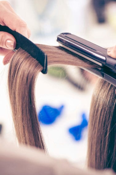 ceramic hairstraighteners used on straight-hair