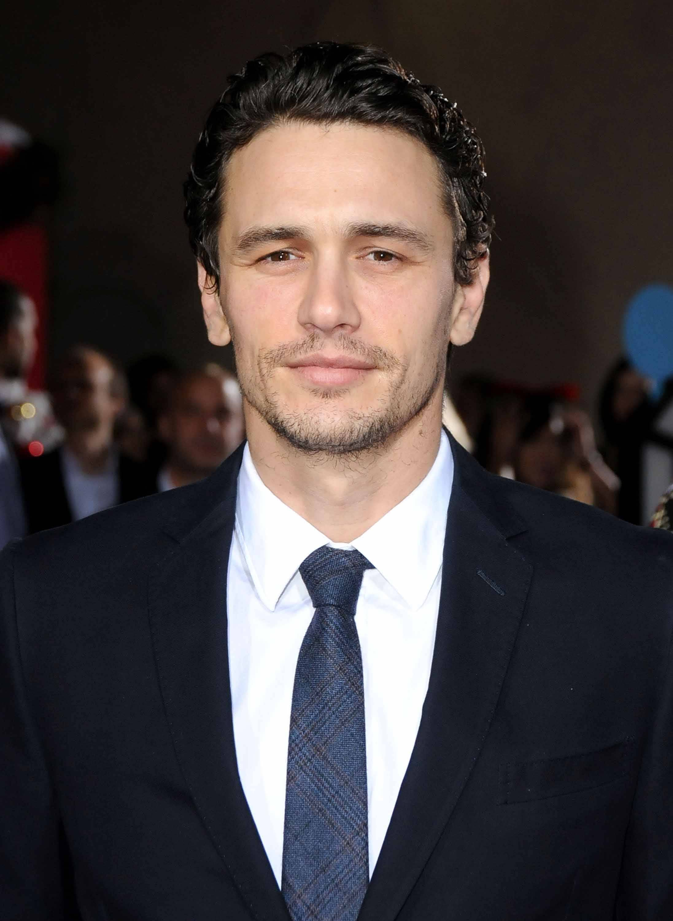 Curly hair: Men pulling it off - James Franco. Credit: Getty Images