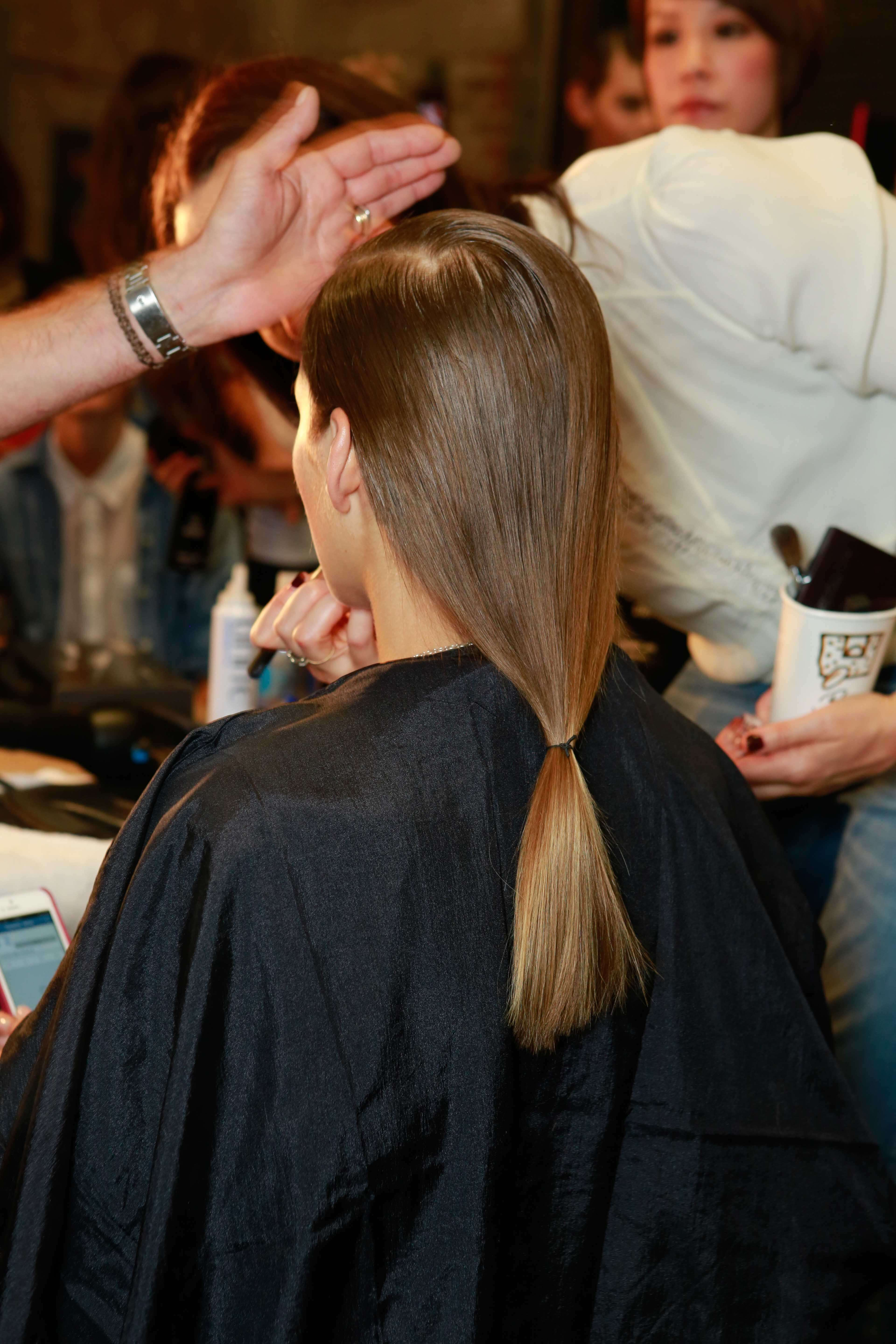 Straight hair perms pros and cons - A Ceramic Hair Straightener Can Help Reduce Frizz Long Brown Hair