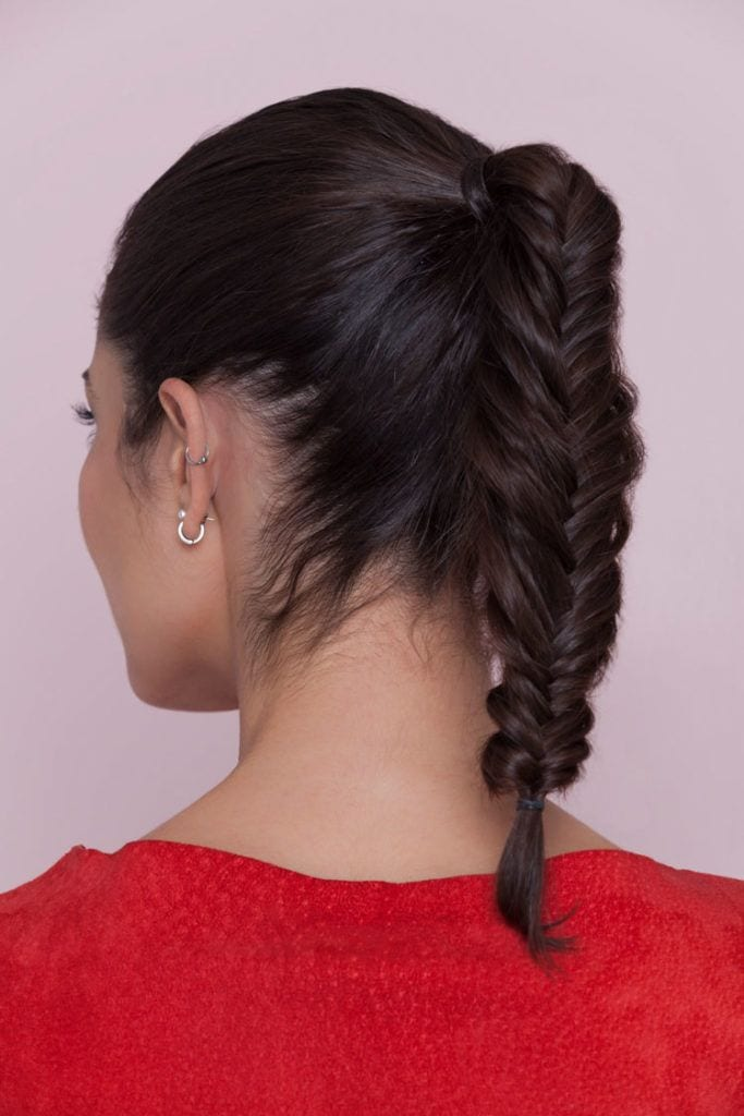 Ways to do your hair: braided ponytail