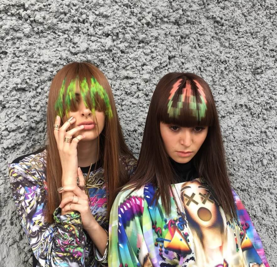 pixelated bangs new hair trends from Instagram