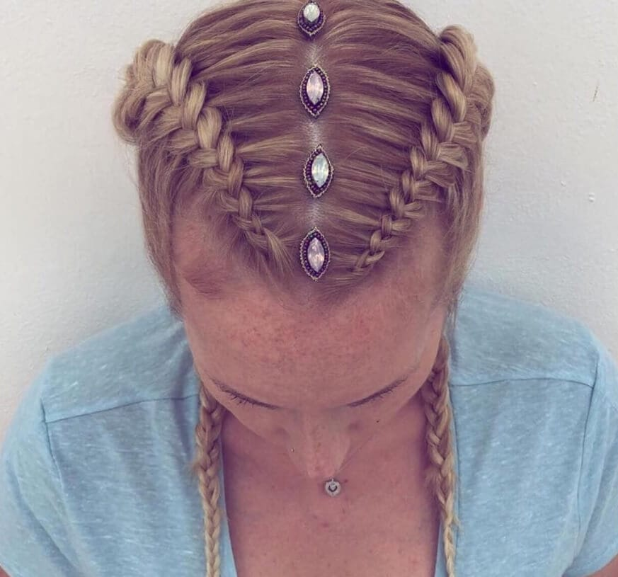 jewelled new hair trends