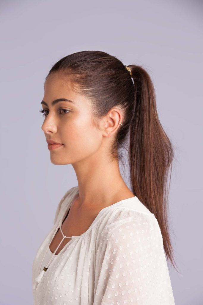 high ponytail ways to do your hair