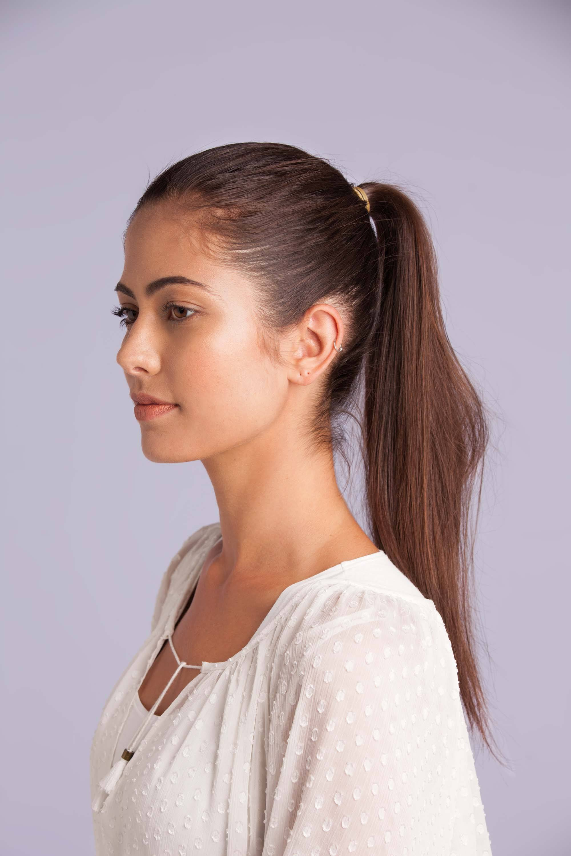 Ways to do your hair: high ponytail