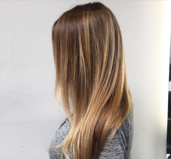 Hair colour ideas for brunettes: : All Things Hair - IMAGE - Golden brown