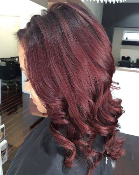 Hair colour ideas for brunettes: : All Things Hair - IMAGE - Mahogany